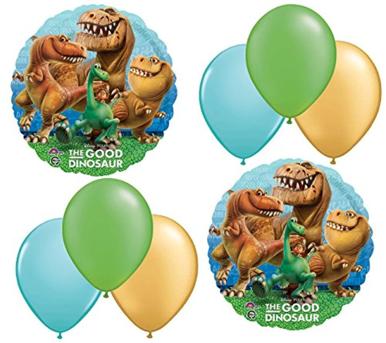 Disney Pixar The Good Dinosaur Mylarとラテックスバルーンブーケ( 8個) by Anagram
