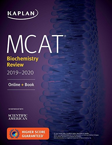MCAT Biochemistry Review 2019-2020: Online + Book (Kaplan Test Prep) (English Edition)