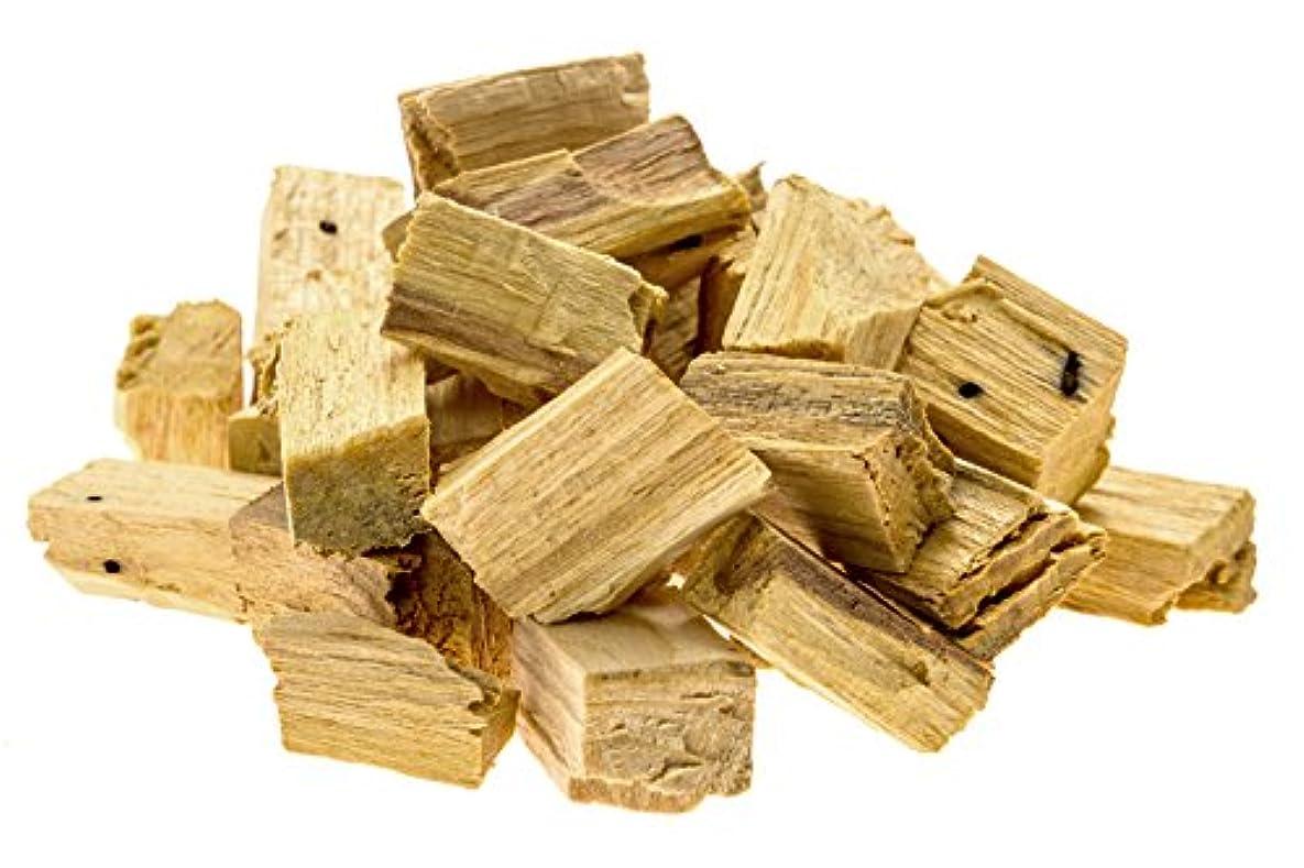 ネックレット療法蒸気プレミアムPalo Santo Holy Wood Incenseチップ、for purifying、クレンジング、ヒーリング、瞑想、Stress Relief。100 %自然と持続可能な、野生の収穫。( 1oz )