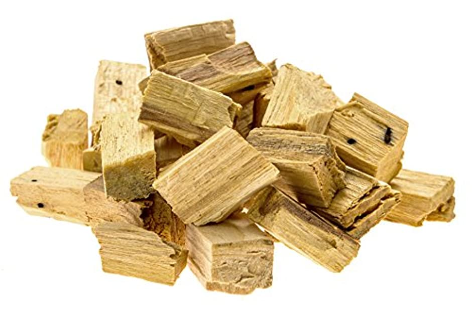 鮮やかなプライバシーウガンダプレミアムPalo Santo Holy Wood Incenseチップ、for purifying、クレンジング、ヒーリング、瞑想、Stress Relief。100 %自然と持続可能な、野生の収穫。( 1oz )