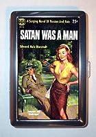 Satan Was a Man : surging小説パッション& Ruin IDウォレットorシガレットケースアメリカ製