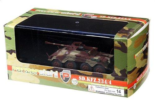 1:72 装甲車stahl ディスプレイ アーマー 88018 Bussing-NAG Sd.Kfz.234/4 プーマ ディスプレイ モデル ドイツ軍 4.PzDiv 1945【並行輸入品】