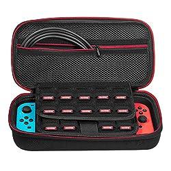 (ディヤード)Deyard Nintendo Switchケース 高品質ポーチ 消臭処理 防塵 耐衝撃 任天堂スイッチ専用カバー(改良型)