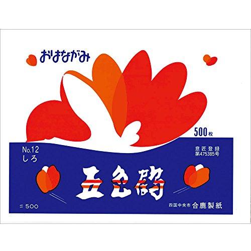 [해외]合鹿 제지 문의 鼻紙 오색 학 500 매해라 3P (1500 매)/Yaga Paper Making Oyakami Goshiki 500 Cranberries 3P (1500 Sheets)
