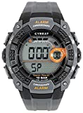 [J-アクシス] スポーツウォッチ 10気圧防水デジタルウォッチ ACY15-GY メンズ グレー