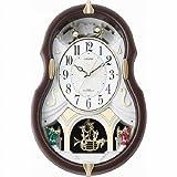 シチズン メロディ12曲入り電波掛時計