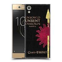 オフィシャルHBO Game of Thrones Martell ハウス・モットー Sony Xperia XA1 / Dual 専用ソフトジェルケース