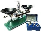 (akindou) 懐かしい 上皿天秤 上皿てんびん 分銅 100g分付属 理科室 実験 理系 科学 化学 インテリア