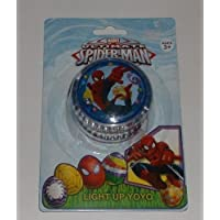 Marvel Ultimate Spider-Man Light Up Blue Yoyo by Marvel