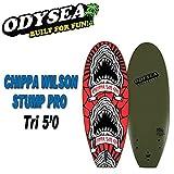 ODYSEA オディシーサーフボード [CHIPPA WILSON-STUMP PRO 5'0 TRI 3fin] PRO SERIES ショートボード CATCHSURF キャッチサーフ ソフトボード スポンジボード