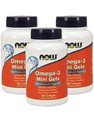 3個セット オメガ3ミニジェル DHA&EPA 180粒