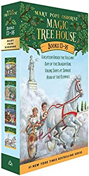 Magic Tree House Books 13-16 Boxed Set (Magic Tree House (R))