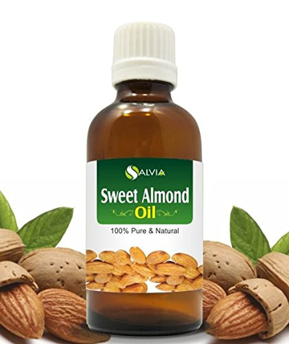 SWEET ALMOND OIL 100% NATURAL PURE UNDILUTED UNCUT CARRIER OILS 50ML
