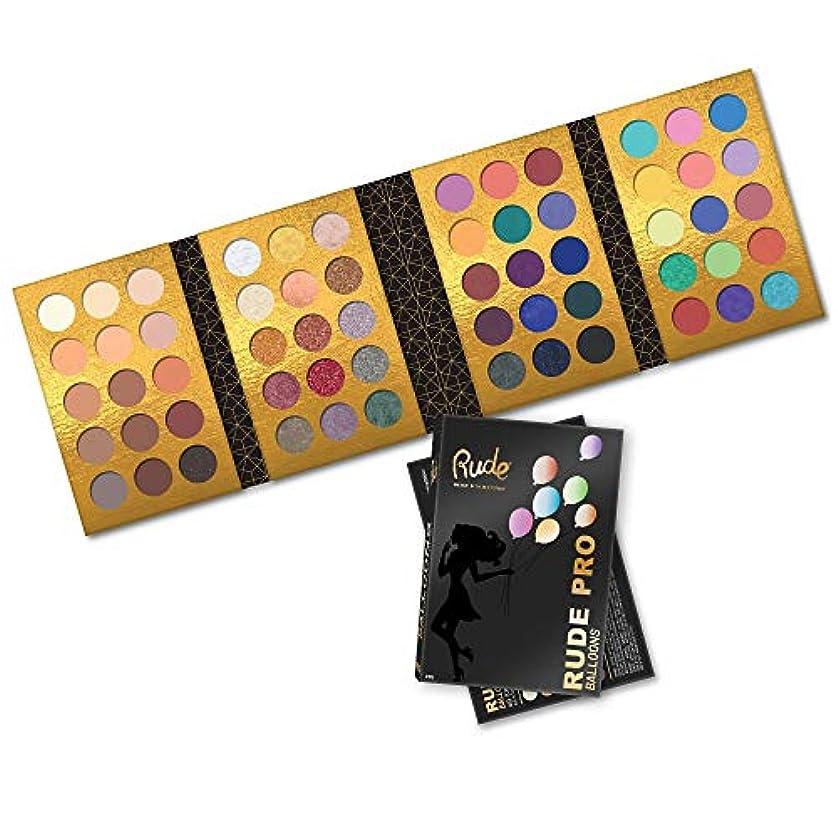 虹ケイ素ジャグリング(6 Pack) RUDE? PRO Balloons - 60 Color Eyeshadow Palette (並行輸入品)