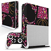 igsticker Xbox One S 専用 スキンシール 正面・天面・底面・コントローラー 全面セット エックスボックス シール 保護 フィルム ステッカー 006956