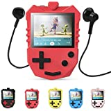 AGPTEK MP3 Player for Kids, Portable 8GB Music Player with Built-in Speaker, FM Radio, Voice Recorder, Expandable up to 128GB