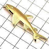 限定 レア ピンバッジ 金色のサメ鮫 ピンズ フランス