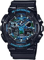 Casio G-Shock Quartz Men's Watch GA-100CB-1A Blue Camouf