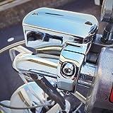 ドラッグスター 400 1100 専用 ブレーキ マスターシリンダー カバー メッキ仕上げ フルカスタム