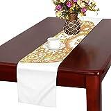LKCDNG テーブルランナー すばやい にわとり クロス 食卓カバー 麻綿製 欧米 おしゃれ 16 Inch X 72 Inch (40cm X 182cm) キッチン ダイニング ホーム デコレーション モダン リビング 洗える