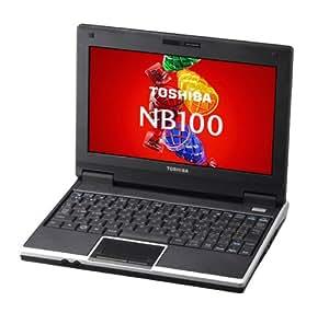 TOSHIBA ネットブックPC HDD搭載モデル NB100/H コスミックブラック  PANB100HNL