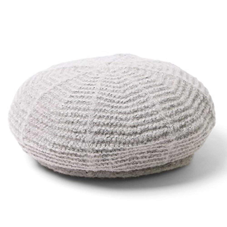(エムエイチエー) M.H.A.style ベレー帽 ニット レディース CAP 帽子 無地 秋冬 ヘアアクセ 21677