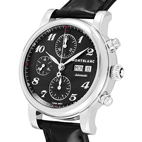 a6e13f01380  Mont Blanc  Montblanc Watch Star Chrono Black Dial Automatic 106467 Men S  Parallel Import Goods