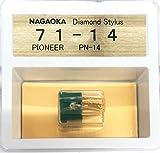 ナガオカ レコード針 Pioneer PN-11用交換針 G 71-14