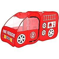YHJM 子供用 屋内 消防車 テント 部屋 ゲームハウス 折りたたみ式 子供用 アウトドア 車 ゲーム テント