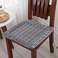シンプルなパッド入りの豪華な椅子のパッド/オフィスのクッション/滑り止めのダイニングチェアクッション - 私は45x45cm(18x18inch)