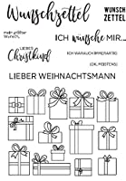 German Words Transparent Clear Silicone Stamp/seal for DIY Scrapbooking/Album Decorative Clear Stamp Sheets ST0152