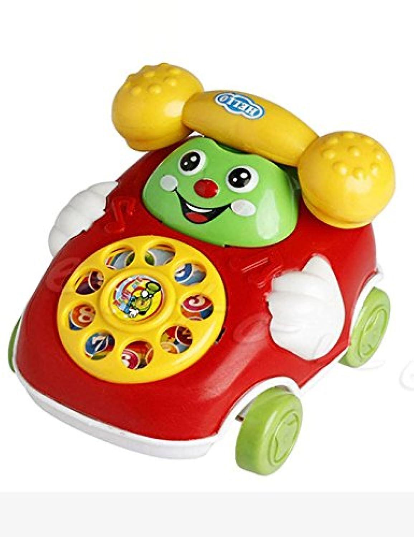 hindom Baby Toys Cartoon Car Phoneキッズ教育Developmental Toys