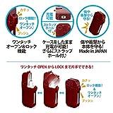 iQOSロックハードケース / アイコス プラスチック ハード ケース / ブラック ホワイト クリア ワインレッド ピンク (ピンク)