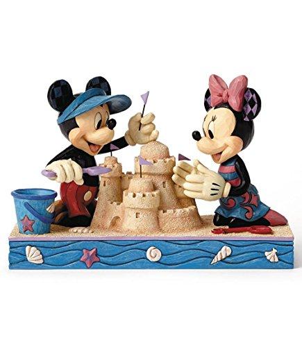 ディズニー・トラディションズ/ シーサイド ミッキーマウス&ミニーマウス スタチュー