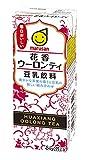 マルサン 豆乳飲料 花香ウーロンティ 200ml ×24本