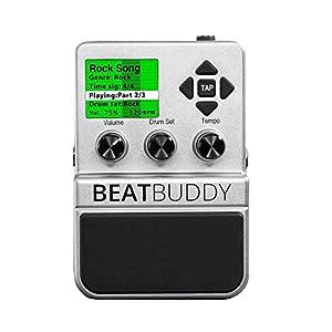 「BeatBuddy」ギターペダル型ドラムマシン。世界初!ライブ感溢れるリアルビートをプレイしてくれる感覚直結型のドラムマシン。