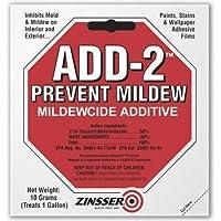 Zinsser add-2MildewcideカビPreventing Additive (2パック合計)