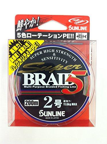 [해외]산 라인 (SUNLINE) PE 라인 슈퍼 블레이드 5 HG 200m 2.0 호/Sunline (SUNLINE) PE line superblade 5 HG 200 m 2.0