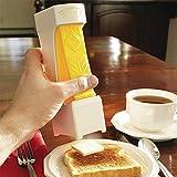 YXC バター切り器 チーズスライス チーズディーム カッター キッチンツール パン 台所 料理 冷蔵庫 チーズナイフ キッチン用品