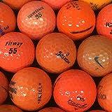 S+Aランク ブランド混合 オレンジ系 各種 30球 ロストボール 【ECOボール】