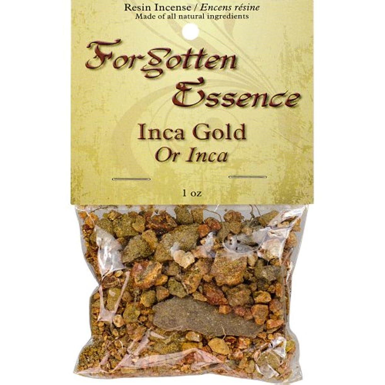 おじさんみ種The New AgeソースForgotten Essence樹脂Incense Inca Gold 1 oz ゴールド 73307
