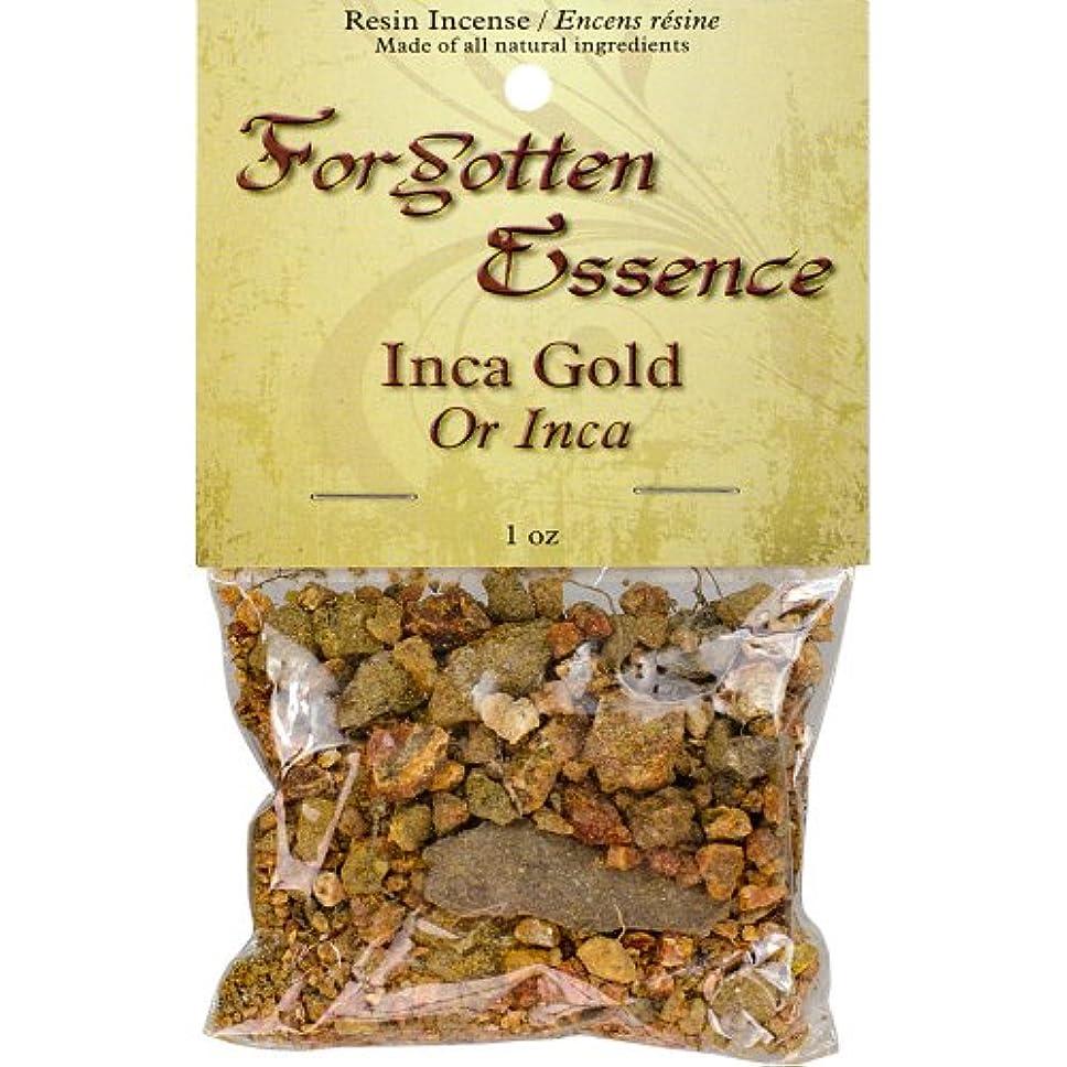 うめき声苗ひどくThe New AgeソースForgotten Essence樹脂Incense Inca Gold 1 oz ゴールド 73307