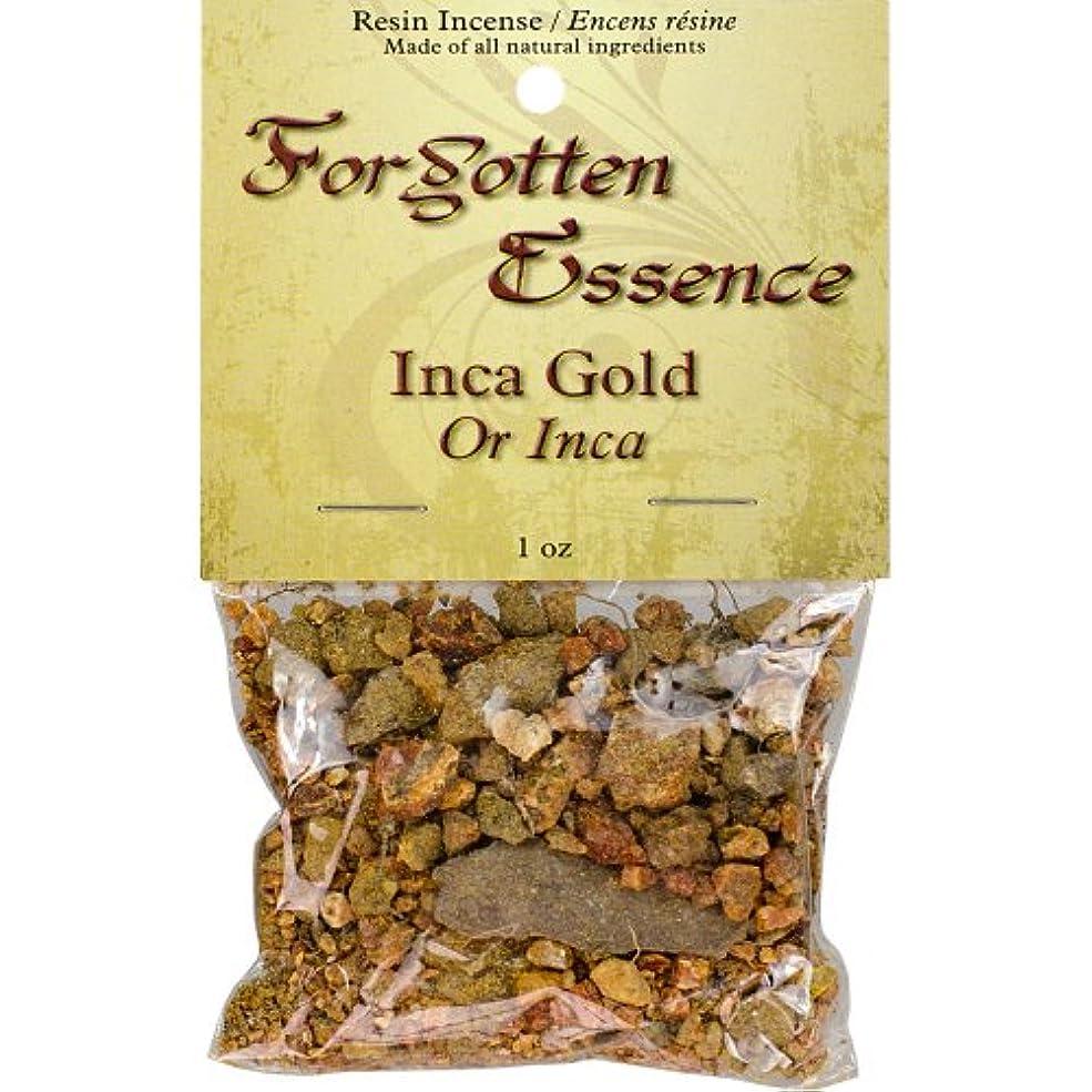 よろしく部伝染性のThe New AgeソースForgotten Essence樹脂Incense Inca Gold 1 oz ゴールド 73307