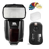 ピクセルワイヤレスフラッシュスピードライトgn602.4G転送LCD画面+ tf362Flash Trigger for Nikon SLRカメラd3400d3300d850d750d5600d7200d800。。。