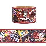 ミッキー マウス スクリーンデビュー 90周年 グッズ ( マスキングテープ ) マステ シール テープ ミッキー ディズニー リゾート限定