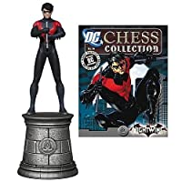 Batman Superhero Nightwing Chess Piece & Collector Magazine