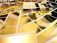 37mm (1.5インチ) スクエアシェイプカラーコードステッカー–パックof 72Large Colored Squares Stickyラベル–32色使用可能 37mmsquarecolourcode