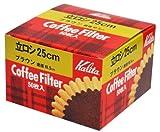 カリタ コーヒーマシン用フィルター 立ロシ 50枚入 25cm