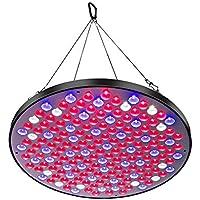Niello 50W植物育成ライトパネル UFOシリーズ177 LED超薄型スーパーライト ガーデン・温室フラワー・水耕栽培適用 日照不足解消 植物成長促進ランプ