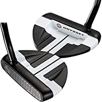Odyssey golf- LH Works Big TブラックVersaパター( Left Handed )